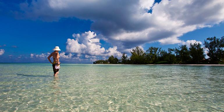cayman islands rum point beach caribbean