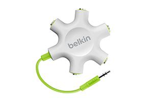 Belkin Rockstar 5-way headphone splitter