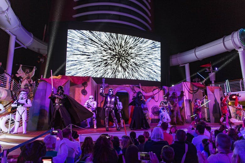 Star Wars Day at Sea on Disney Fantasy