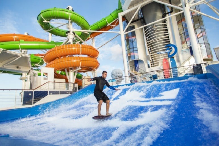 Flowrider on Liberty of the Seas